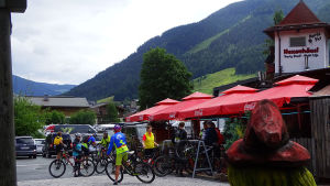 Bikestation & Gastgarten